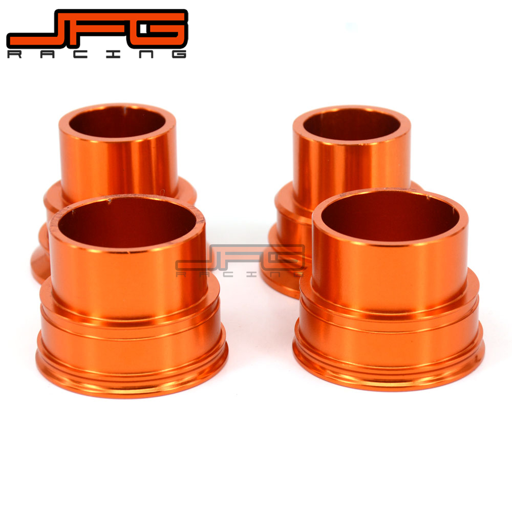 цена на Billet Front and Rear Wheel Hub Spacer For KTM SX XCF SXF EXC EXCF EXCW SMR 125 250 300 350 400 450 525 530 Motocross Enduro