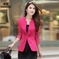 Más del Tamaño L-5XL Mujer Trajes de Primavera Nueva Moda Blazers Traje chaqueta blaser feminino chaqueta blazer mujeres blazers y chaquetas tops