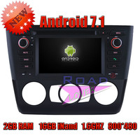 Wanusual 2G 16GB Android 7 1 Quad Core Car Multimedia DVD Player For BMW 1 Series