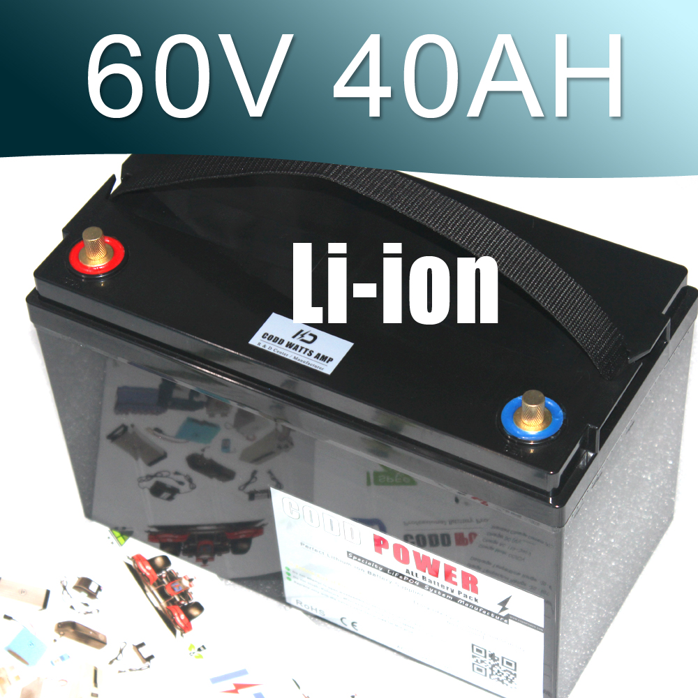 60V Scooter Electric Bike motorcycle 3000W Lithium ion Battery Pack powerful 48v electric bike battery pack li ion 48v 50ah 1000w batteries for electric scooter with use panasonic 18650 cell