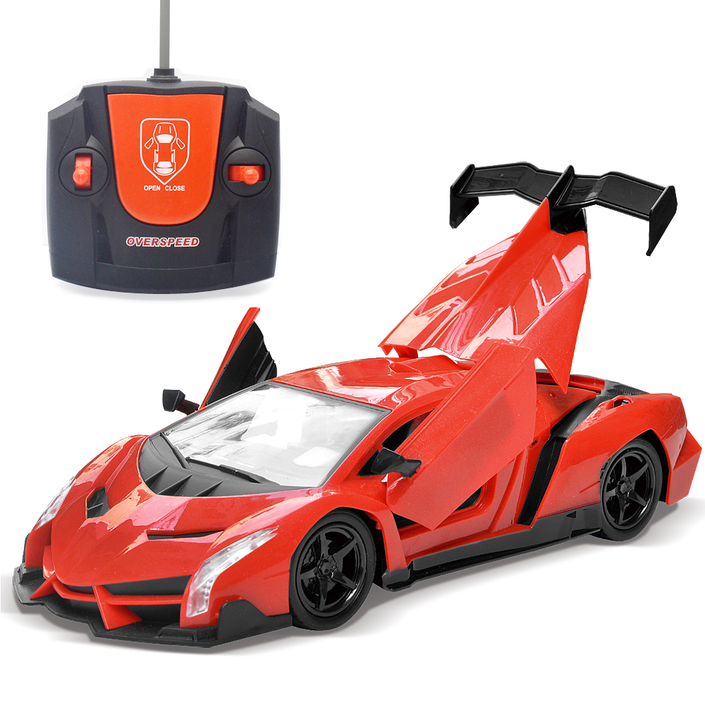 01.20 4 Channel Electric Rc Remote Controlled Car Children Toy Model Gift Electric Deformation Toy Cars With LED Light