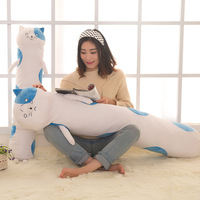 1pcs 100cm Himouto Umaru Chan Bigcat Pillow Plush Toy Umaru Doma Cosplay Pillow Case Plush Doll
