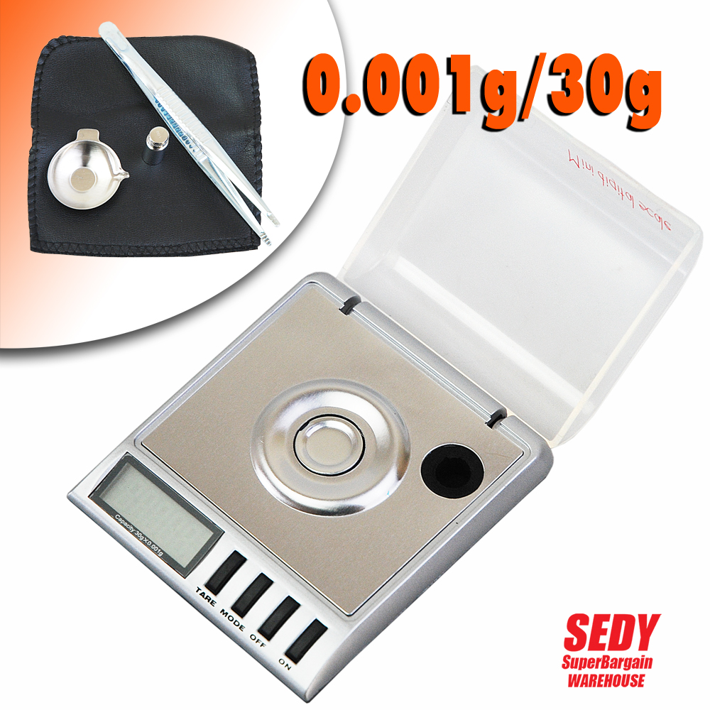 ФОТО Mini 30g 0.001g Balanza Digital Pocket  Scale Jewellery Precision Electronic  Weight Lab Bascula Pesca Musculation Weights Pesas