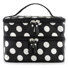 Women Make Up Bag Toiletry Holiday Travel Pouch Makeup Storage Double-deck Tools dropship
