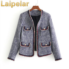 Fashion loose stitching jacket multi-pocket loose plaid long-sleeved jacket coat Laipelar Autumn Trend Top Gothic Vintage Jacket plaid loose fitting pocket design coat