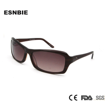 New Arrival oculos de sol Feminino Brown Color Sunglasses Hand Made Acetate Large Sunglass Men