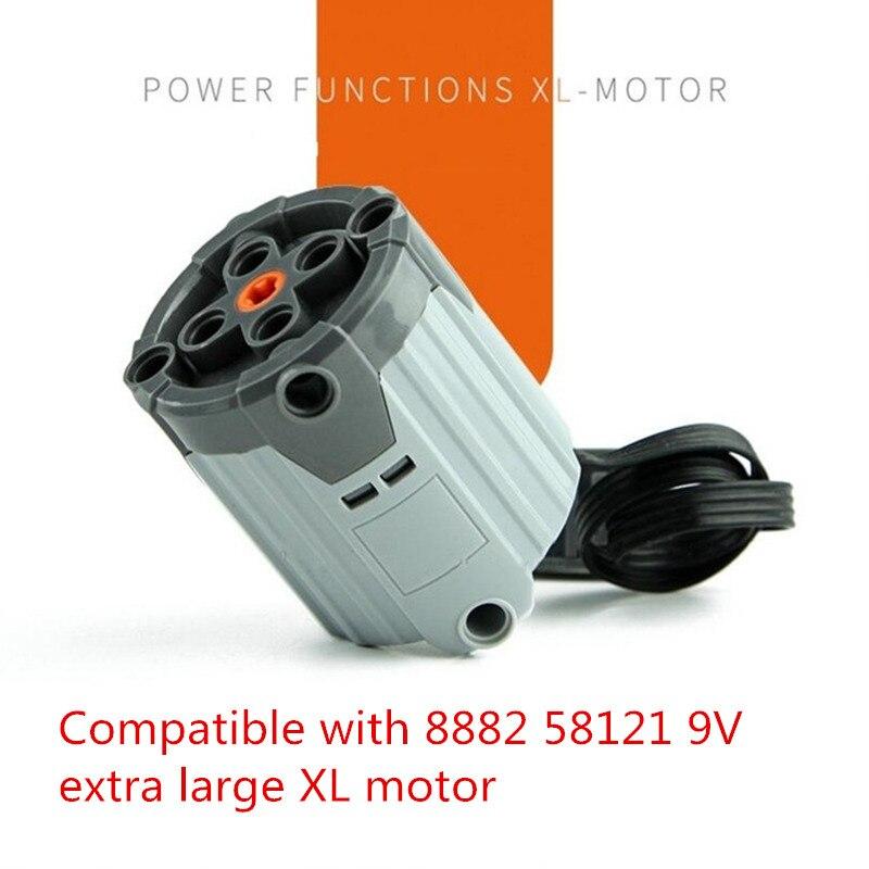 8882 58121-Nuevos Lego Technic-Potencia Funciones Motor Grande Xl-eléctrica 9 V