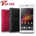 """Оригинальный Sony Xperia SP M35h GPS Wi-Fi Dual Core 8.0MP 4.6 """"Сенсорный Экран 8 ГБ Разблокирована Восстановленное Телефон бесплатная доставка"""