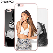 ФОТО l123 cat ar ariana grande soft tpu silicone  case cover for apple iphone 7 6 6s plus 5 5s se 5c 4 4s