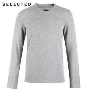 Image 5 - AUSGEWÄHLT Neue 100% Baumwolle Business Casual Pullover Strick herren Reine Farbe Pullover Kleidung S