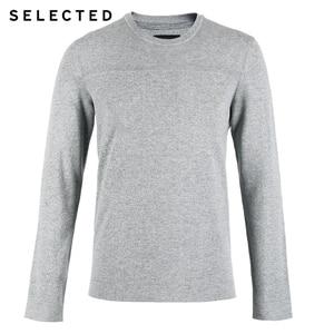 Image 5 - Seçilen yeni % 100% pamuk iş rahat kazak örme erkek saf renk kazak elbise S