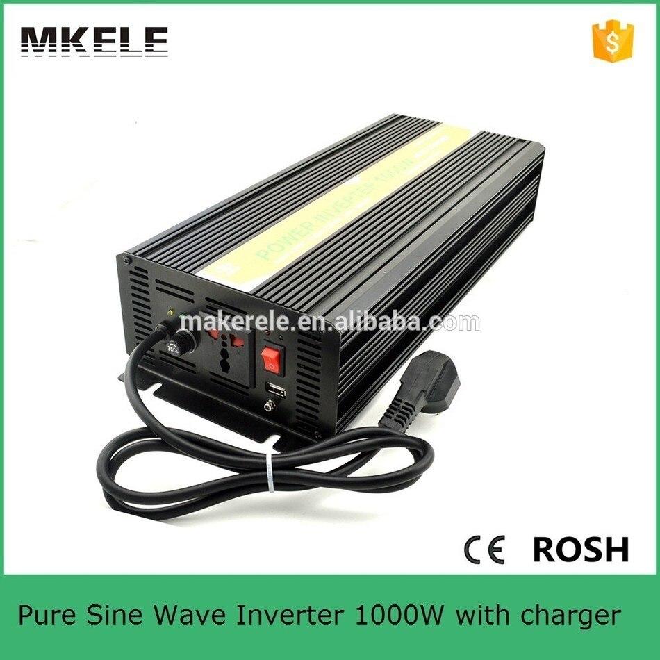 Mkp1000 242b c ipower инвертор 1kw 24 В инвертор, перезаряжаемый аккумулятор инвертор 220/230vac решетки один выход