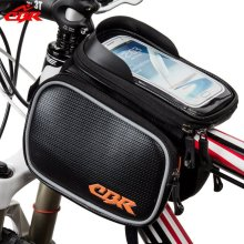 Q149 outdoor cycling mountain bike saddle bike bag front pack bicycles beam touchscreen beam tube bag waterproof bike 5.7 inches