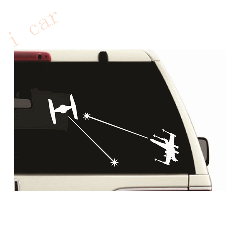 STAR WARS X WING FIGHTER VINYL DECAL FOR CARS WINDOWS Laptops walls Doors