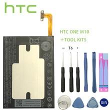 цены HTC Original 3000mAh B2PS6100 Phone Battery Fit for HTC One M10 10/10 Lifestyle M10H Batterie Bateria Batterij+Tools