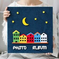 Новинка 2017 6 дюймов фотоальбом Тип страницы детей семейный альбом творческий мультфильм ребенка расти альбом