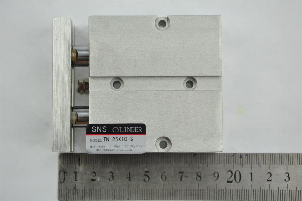 SNS TN25 *10-S M5with magnetic reed Airtac type  twin rod  guide dual shaft acting guide  air pneumatic cylinder su63 100 s airtac air cylinder pneumatic component air tools su series