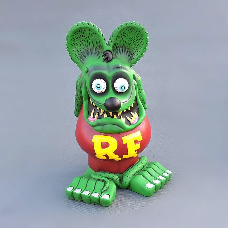 Nouveauté grande taille 32cm Rat Fink grand papa PVC figurine à collectionner modèle jouets