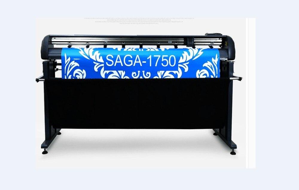 Saga 1750iip сервоприводов Резка плоттер Автоматическая регистрация Mark Системы Бесплатная доставка
