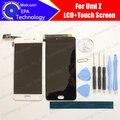 UMI Z Display LCD + de Toque Substituição Do Painel de Vidro Digitador Da Tela 100% Original Novo Testado Para Z + Ferramentas + adesivo