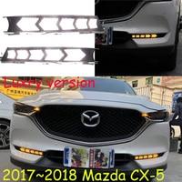 Video 2017 2018 CX 5 Daytime Light Free Ship LED CX 5 Fog Light Car Accessories