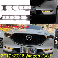 Video 2017 2018 CX 5 Daytime Light Free Ship LED CX 5 Fog Light Car Accessories