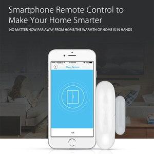 Image 5 - Akıllı pencere kapı alarmı WiFi kapı pencere sensörü akıllı ev güvenlik Tuya APP kontrolü uyumlu Amazon Alexa Google ev IFTTT
