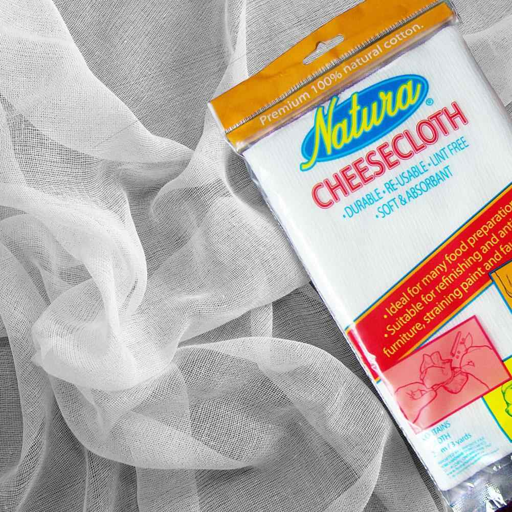 40pcs Cheese Cloth Natural Super Fine Cotton Filter Gauze Kitchen Cleaning  Filter Car Dusting Perfume Bag Winemaking