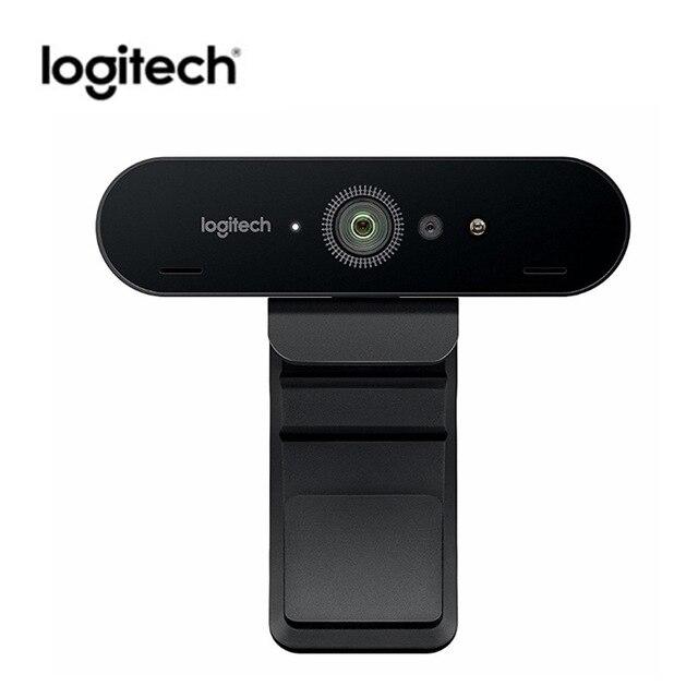 Logitech C1000e BRIO 4 K Webcam Grand Angle Ultra HD 1080 p Caméra de Vidéo-Conférence Avec Micphone