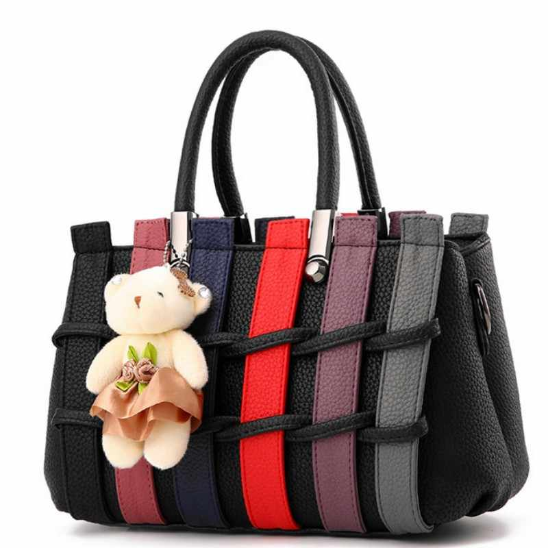 100% couro Genuíno Das Mulheres bolsas 2019 Nova Coreano feminino doce em forma de moda bolsa Crossbody saco Do Mensageiro Do Ombro