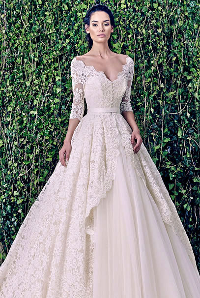 New Arrival A-Line Off The Shoulder Lace Bridal Gown With Sleeves 2018 Vestido De Novia Custom Mother Of The Bride Dresses