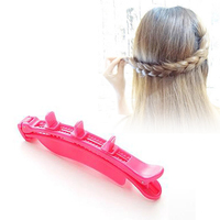 DIY three distribution and distribute machine twist plaits centipede scorpions braided hair hairpin hairdressing tools Z3