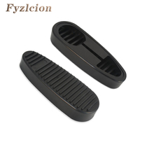 2017 New Stealth Slip on Rubber Combat Buttpad Butt Pad Recoil Pad for 6 Position Rifle Stock Free Shipping