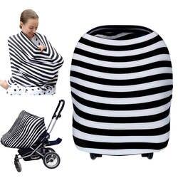 Уход Грудное вскармливание конфиденциальности Детские шарф Младенческая коляски Автокресло груди нагрудник для кормления уход обложки