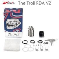 الأصلي wotofo ترول rda v2 رذاذ لل ترول v2 تانك 510 دبوس الإلكترونية السجائر atomzier vape