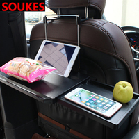 Adjustable New Car Dining Computer Table iPad Holder For Audi A3 A4 B8 B6 A6 Mercedes Benz W205 W204 Skoda Octavia A5 A7