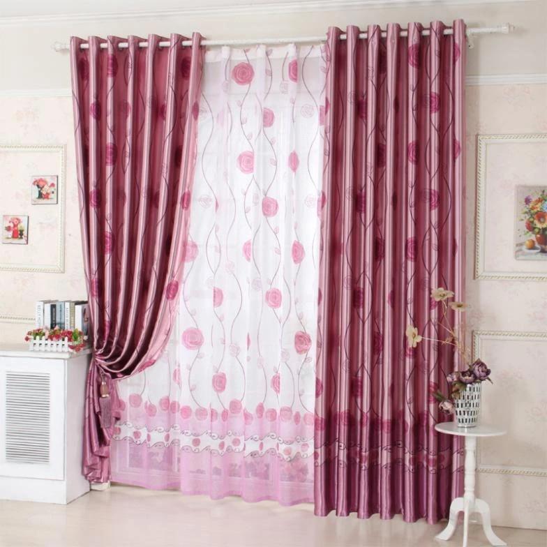 european minimalist living room bedroom curtains curtain hooks ikea fresh cloth customized shipping