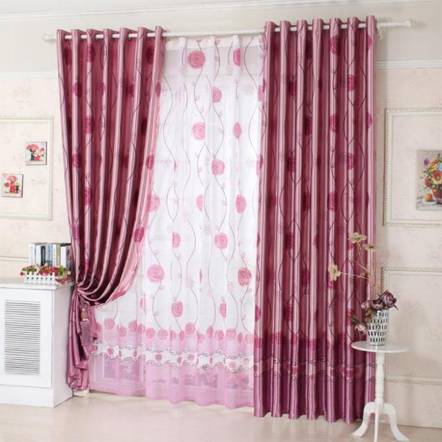 europese minimalistische woonkamer slaapkamer gordijnen gordijn haken ikea schone doek aangepaste verzendkosten