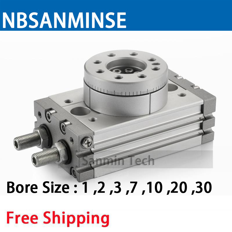 MSQB Free Shipping Rotary Table Air Cylinder Pneumatic Compressed Parts Type Pinion Air ( non - lube ) SMC Sanmin makita uc3520a