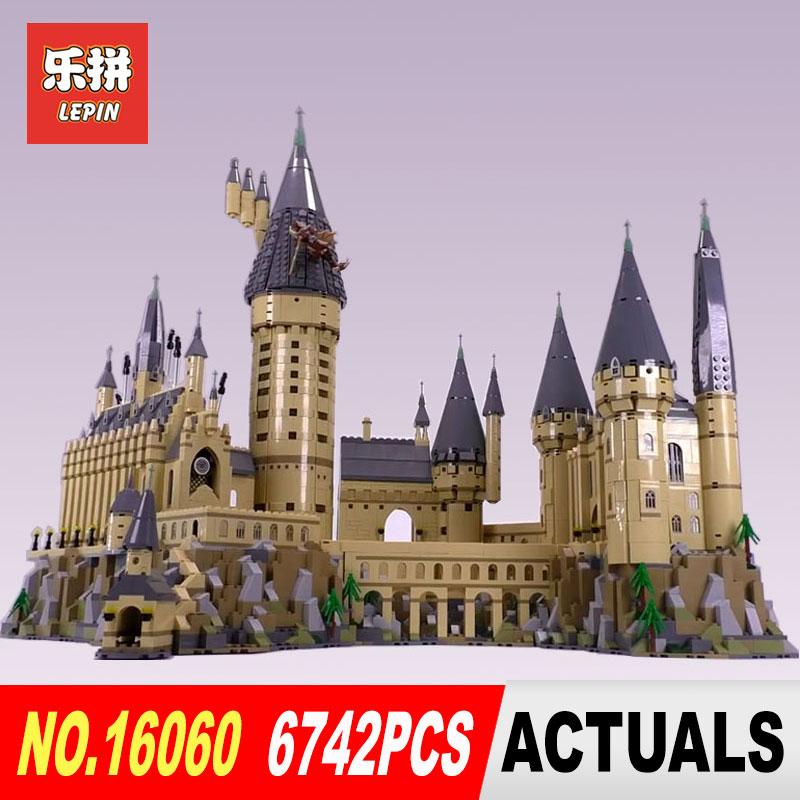 2018 Лепин 16060 Гарри Magic Поттер Хогвартс замок школа Совместимость Legoing 71043 строительные блоки кирпичи развивающие игрушки модель