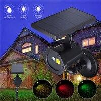 Solar Power LED Laser Projector Light Flash Waterproof Outdoor Garden Christmas Xmas Holiday Decor Star Light