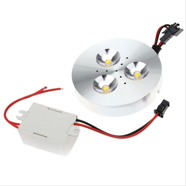 Bright LED Downlight 3w 4W Silver/black/white shell Round LED Ceiling Recessed Spot Light DC12V puck Down Light Cold /Warm White
