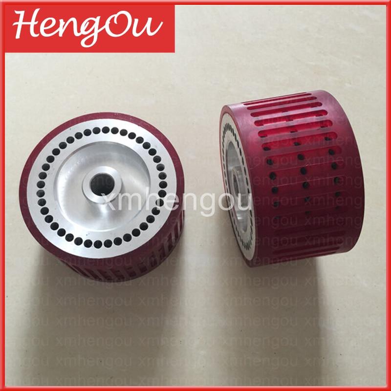 1 Piece New Stahl folding Machine Suction Wheel FH 10066561 02 Size 124x18x70mm