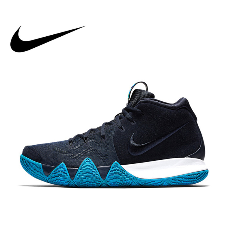 huge discount c930f 97f75 US $120.03 31% OFF|Original authentic NIKE KYRIE 4 WOmens men's basketball  shoes fashion outdoor sports designer sports high quality 943807 401-in ...
