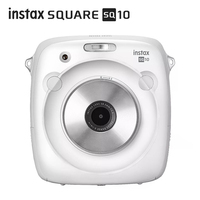 2017 New Arrival 100% Genuine Fujifilm Instax SQUARE SQ10 Hybrid Instant Fim Photo Camera Black Color