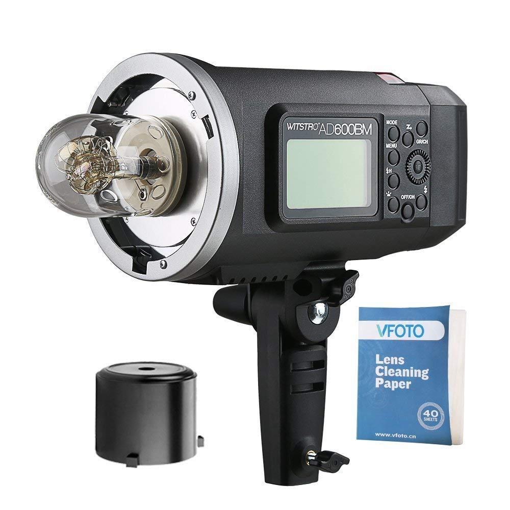<font><b>Godox</b></font> <font><b>AD600BM</b></font> Manual Version HSS 1/8000s 600W GN87 Flash Light Bowens Mount with Lithium Battery 8700mAh for C N CD50Y image