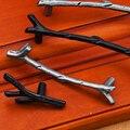 Una Pieza de la vendimia creativa rama muebles manijas antique silver Negro manijas del cajón del gabinete de cocina tiradores tiradores de las puertas