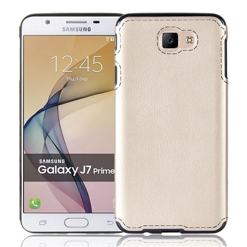 Lyxläderfodral för Samsung Galaxy J5 Prime On5 2016 Väskor Mjuka - Reservdelar och tillbehör för mobiltelefoner - Foto 5