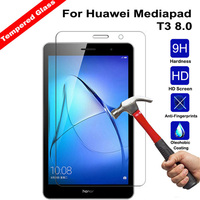 Vidro temperado para huawei mediapad t3 8.0 KOB-W09 KOB-L09 protetor de tela tablet filme de vidro temperado para honor play pad 2 8