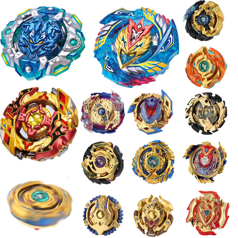 Hot 32pcs New Golden Beyblade Burst Bayblade Metal Fusion Spining Top Bey Blade Blades Toys For Children A